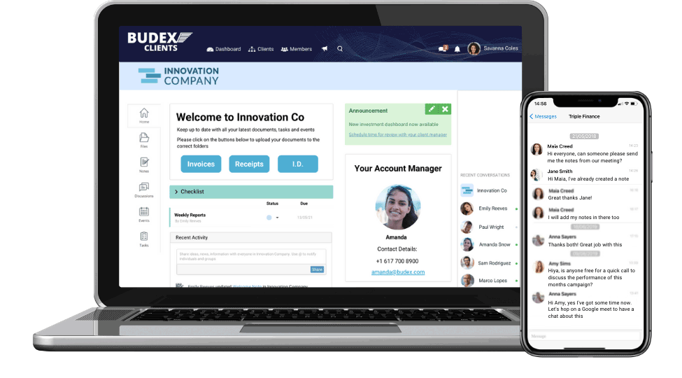 Try Client portal for accountants for free!